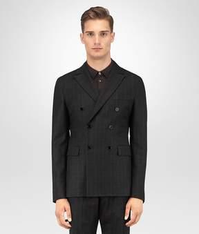 Bottega Veneta Nero Wool Flannel Jacket