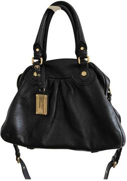 Marc by Marc Jacobs Classic Q leather handbag - BLACK - STYLE