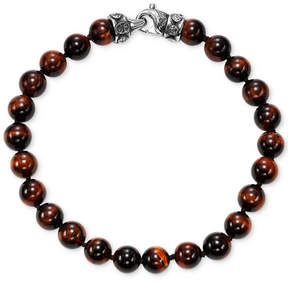 Scott Kay Men's Onyx Bead Link Bracelet, (Also in Red Tiger's Eye)