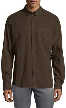 IRO Men's Kaj Button-Down Cotton Shirt