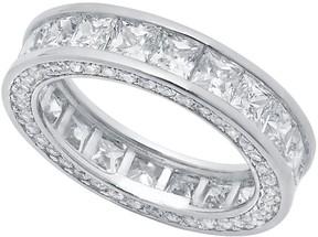 Crislu Fine Channel Set Eternity Ring