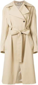 Aalto belted trench coat