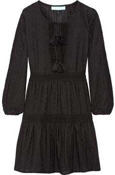 Melissa Odabash Reid Crocheted Cotton Coverup - Black