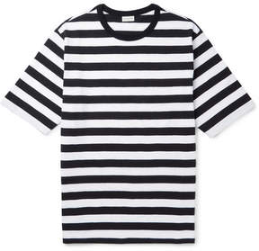 Dries Van Noten Striped Slub Cotton-Jersey T-Shirt