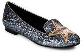 Chiara Ferragni Glitter Ballerina Flats