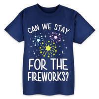 Disney Parks Fireworks T-Shirt for Kids