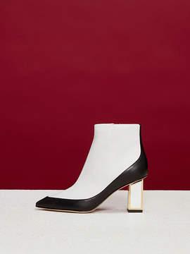 Diane von Furstenberg Cainta Leather Boots