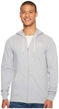 DC Rebel Zip Hoodie Men's Sweatshirt