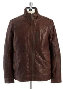 Andrew Marc Vandam Leather Jacket
