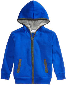 Epic Threads Fleece-Lined Full-Zip Hoodie, Little Boys (4-7), Created for Macy's