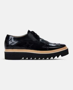 Stella McCartney black star luis brogue