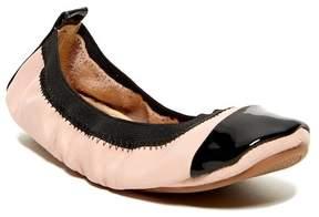 Yosi Samra Patent Cap Toe Foldable Ballet Flat (Toddler, Little Kid, & Big Kid)