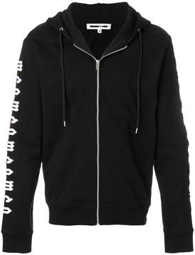 McQ embroidered hoodie