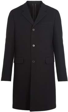 Prada Notch-lapel wool-felt overcoat