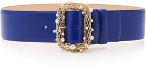 Elie Saab 5 cm leather belt