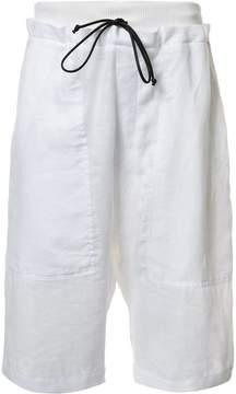 Isabel Benenato drawstring shorts