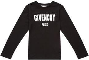 Givenchy Logo Long Sleeve Top