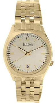 Bulova Men's Accutron II 97B134 Gold Stainless-Steel Quartz Watch
