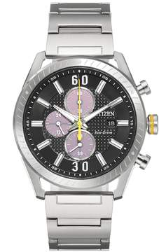 Citizen Drive From Eco-Drive Men's CTO Stainless Steel Chronograph Watch - CA0660-54E