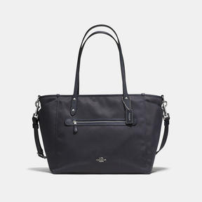 COACH Coach Baby Tote - SILVER/NAVY - STYLE