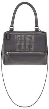 Givenchy Small Pandora Logo Leather Satchel