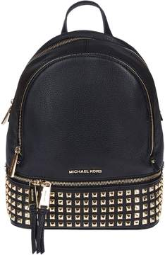 Michael Kors Michael Rhea Studded Backpack - ORO - STYLE