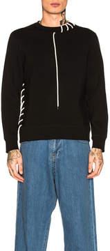 Craig Green Laced Bonded Sweatshirt