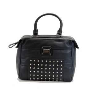 GUESS Women's Geela 437507 Large Soho Satchel Handbag (Navy)