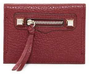 Rebecca Minkoff Regan Leather Card Case - TAWNY PORT - STYLE
