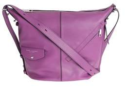 Marc Jacobs Women's Purple Leather Shoulder Bag. - PURPLE - STYLE