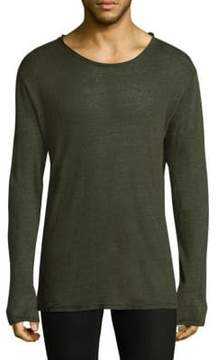 IRO Long Sleeve Linen Tee