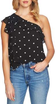 1 STATE 1.STATE Ruffle One-Shoulder Blouse