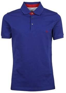 Fay Men's Npmb236139sit0u606 Blue Cotton Polo Shirt.