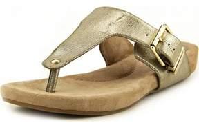 Giani Bernini Ryanne Women Open Toe Synthetic Gold Sandals.