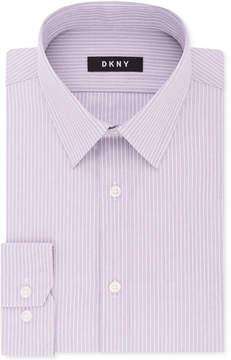 DKNY Men's Slim-Fit Stretch Stripe Dress Shirt, Created for Macy's