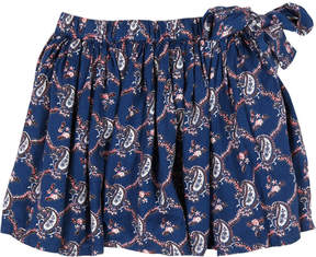 Simple Giulia Cashmere Printed Skirt