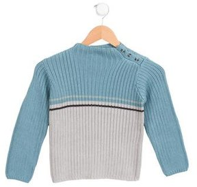 Bonpoint Boys' Colorblock Pullover Sweater w/ Tags