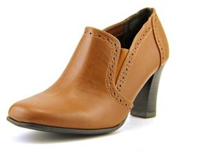 Rialto Nora Round Toe Synthetic Ankle Boot.