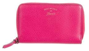 Gucci Leather Swing Wallet - PINK - STYLE