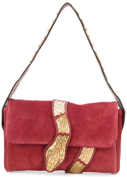 RED Valentino snake embroidered shoulder bag