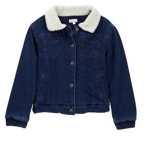 Splendid Faux Shearling Jacket (Toddler Girls)