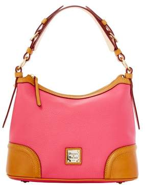 Dooney & Bourke Pebble Grain Hobo Shoulder Bag - HOT PINK - STYLE