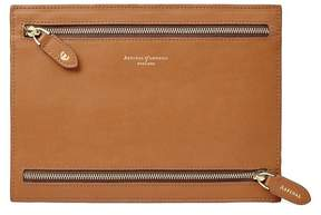 Aspinal of London Multi Currency Wallet In Smooth Tan