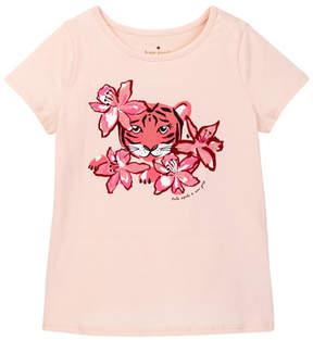 Kate Spade tiger lily tee (Big Girls)