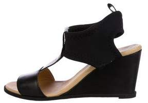 MM6 MAISON MARGIELA MM6 by Maison Martin Margiela T-Strap Wedge Sandals