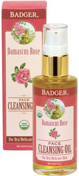 Face Cleansing Oil - Damascus Rose by Badger (2oz Oil)