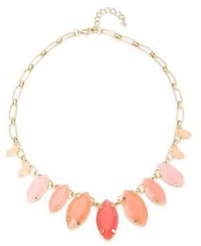 ABS by Allen Schwartz Marquis Stone-Accented Necklace