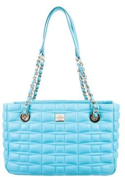 Kate Spade Madelyn Shield Tote - BLUE - STYLE
