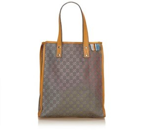 Gucci Pre-owned: Guccissima Tote Bag. - GRAY X MULTI - STYLE