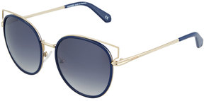 Balmain Metal Cat-Eye Sunglasses
